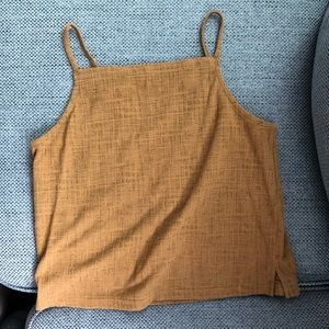 Madewell Texture and Thread Square Neck Tank